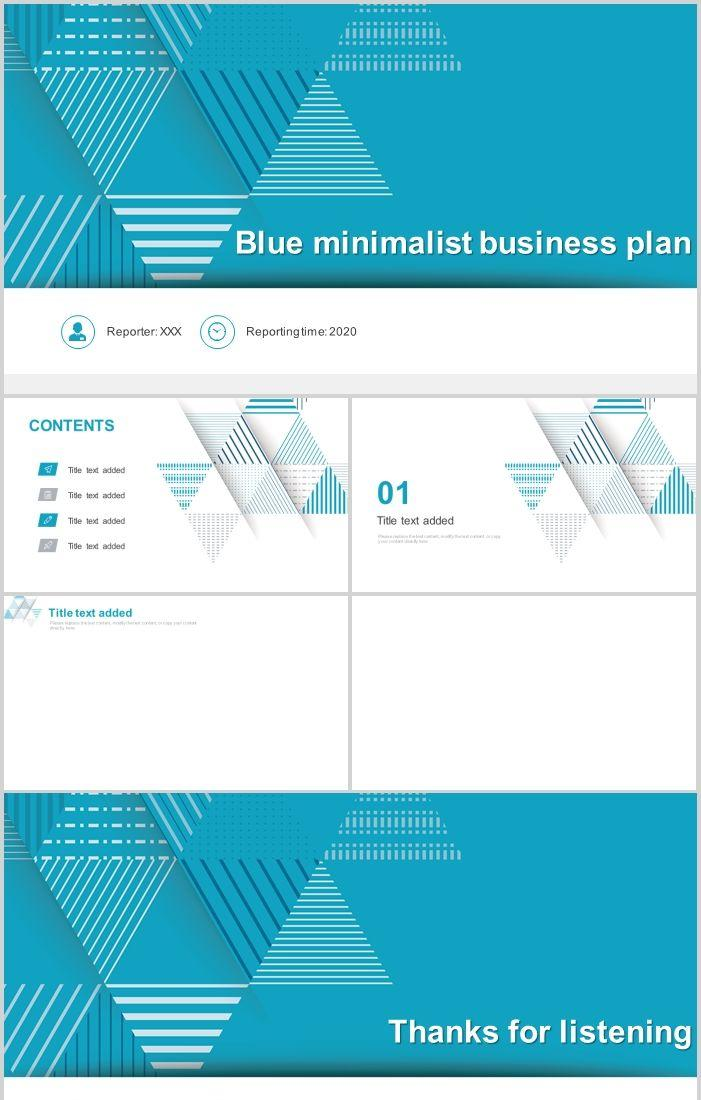Blue Simple Business Work Plan Summary Ppt Powerpoint Templates Professional Ppt Excel Office Documents Template Download Site