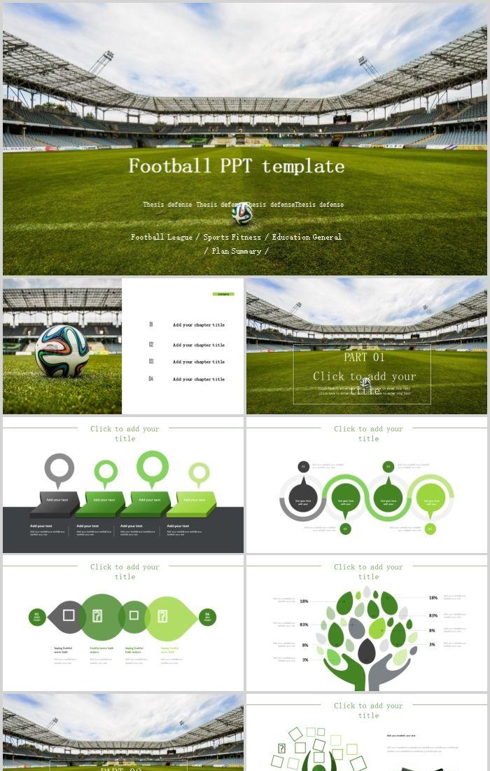 Football Match Competition Summary Report Dynamic Ppt