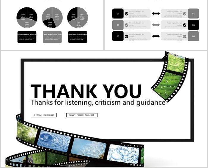 Film Creative Film Production Film And Television Media Ppt Template Powerpoint Templates Ggret