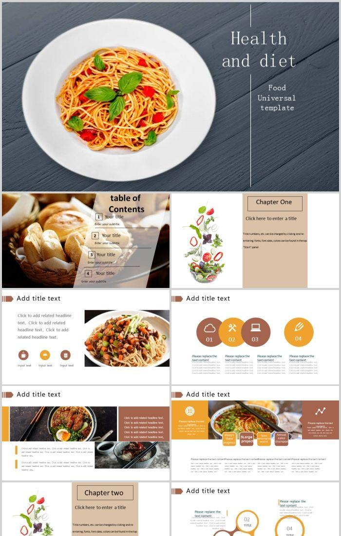 Healthy Eating Noodle Business Plan Ppt Template Powerpoint Templates Professional Ppt Excel Office Documents Template Download Site